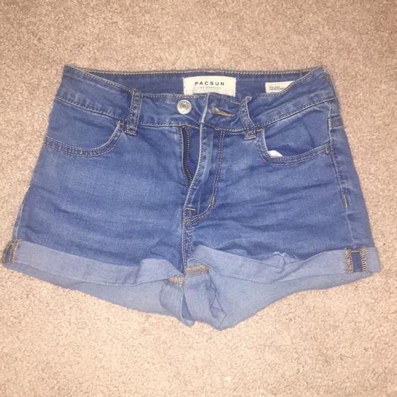 PacSun Pants - Comfy stretchy blue jean shorts